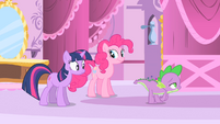 Spike proclaiming his love S1E20