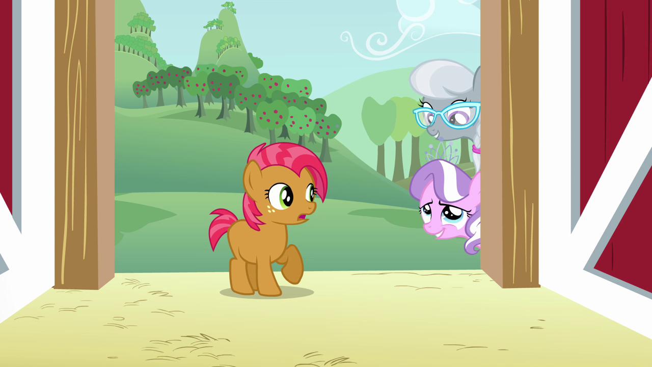 Diamond tiara my little pony friendship is magic wiki fandom - Image Diamond Tiara And Silver Spoon Teasing Cmc S3e4