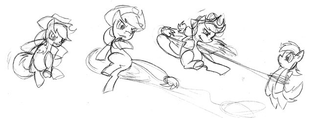 File:FANMADE Applejack production sketch Fighting is Magic.jpg