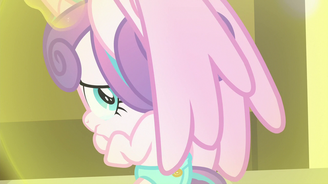 File:Flurry Heart tearfully looks back at Twilight S7E3.png