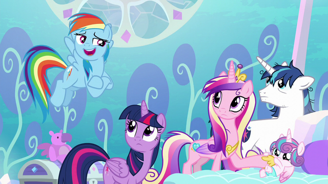 "File:Rainbow ""we've all faced a lot worse"" S6E1.png"