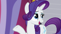 "Rarity ""she worked in all of the finest boutiques in Canterlot"" S5E14"
