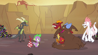 Spike meeting the dragons S2E21