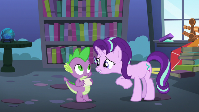 "File:Starlight Glimmer ""you really are hilarious"" S6E21.png"