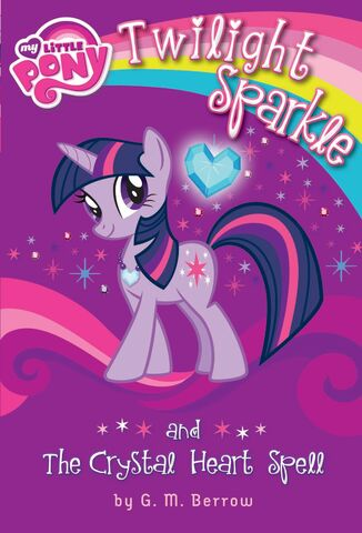 File:Twilight Sparkle and the Crystal Heart Spell cover.jpg