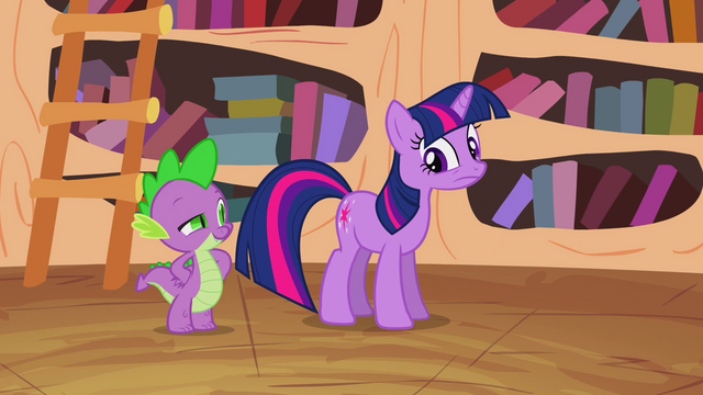 File:Twilight and Spike S02E20.png