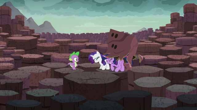 File:Twilight and Rarity remove their rock disguise S6E5.png