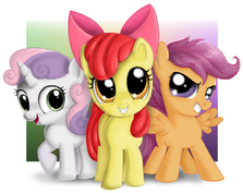 FANMADE Cutie Mark Crusaders by Macflash2