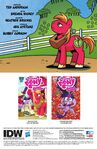Friends Forever issue 17 credits page