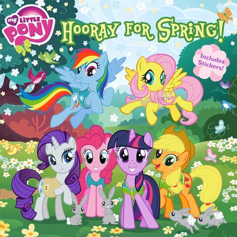 File:My Little Pony Hooray for Spring! storybook cover.jpg