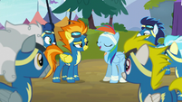 "Rainbow Dash ""time to be okay with fitting in"" S6E7"