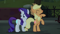 Applejack and Rarity happy S5E16.png