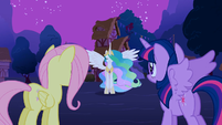 "Celestia ""she is a princess"" S3E13"