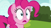 Pinkie Pie surprised by Maud's confession S7E4