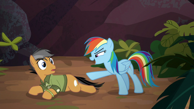 "File:Rainbow ""how's that for not possible?"" S6E13.png"