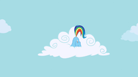 Rainbow Dash hiding S1E05