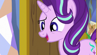 Starlight Glimmer greeting Spike S7E1