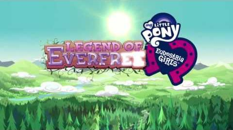 The Legend of Everfree (Swedish)