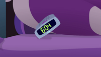 Twilight Sparkle's alarm clock going off EG4