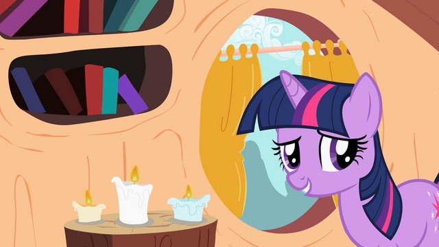 "File:Twilight Sparkle ""No distractions"" S02E10.png"