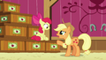 "Applejack ""kept track of what went into which crate"" S6E23.png"