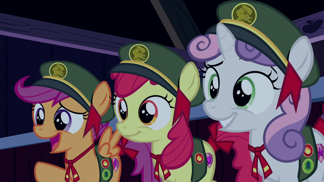 """File:Scootaloo """"you should see your face!"""" S6E15.png"""