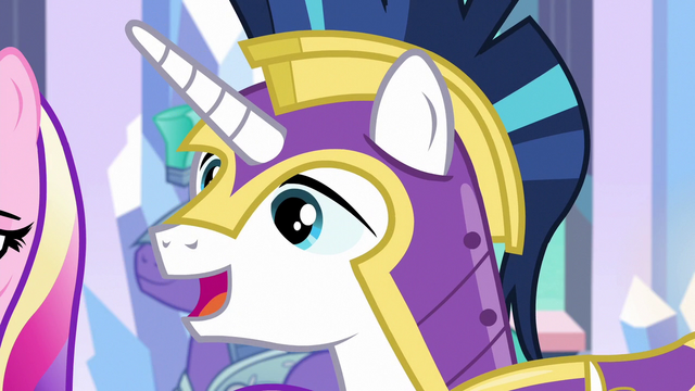 """File:Shining Armor """"maybe we can change that"""" S6E16.png"""