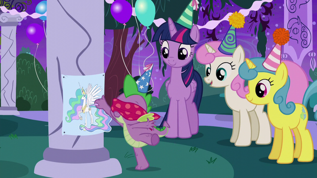 File:Spike plays Pin the Tail on the Pony S5E12.png