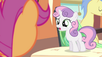 "Sweetie Belle ""how can you say that?!"" S4E19"