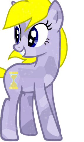 File:FANMADE Timey Marey OC Crystal Pony.png