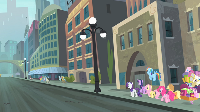 File:Main cast walking in Manehattan S4E8.png