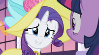 Rarity ask for S2E9