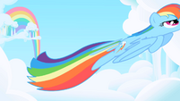 Dash feather floating