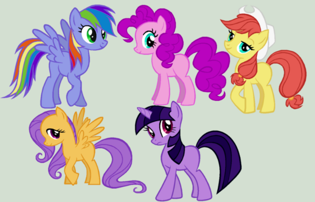 File:FANMADE ponies in MAD colors.png