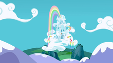 Rainbow Dash's house S3E7.png