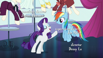 "Rarity ""Rainbow Dash is here to fly with them"" S5E15"