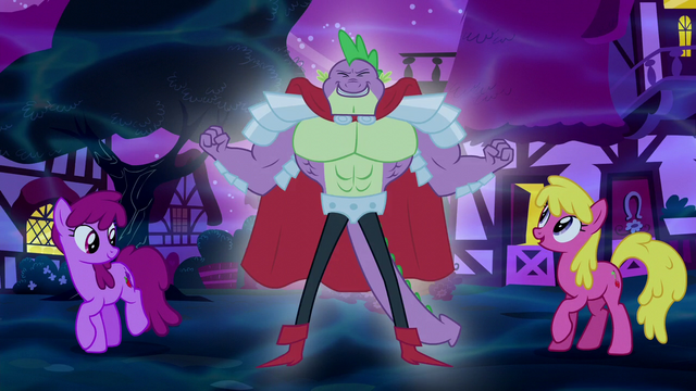 File:Spike turns into Sir Spike S5E13.png