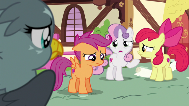 """File:Sweetie Belle """"what one thing you're supposed to do"""" S6E19.png"""