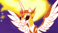 Daybreaker grinning evilly S7E10