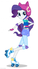 Friendship Games Rarity Sporty Style artwork