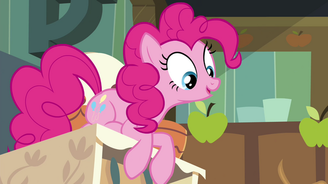 "File:Pinkie Pie ""Can we taste it now?"" S4E18.png"