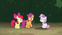 "Scootaloo ""we gotta beat them to Twilight's"" S4E15"