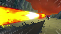 Tirek shoots out a magic beam S4E26
