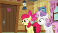 Apple Bloom 'Applejack and I are supposed to be campin' up' S3E06.png