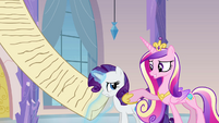 Cadance believes in Rarity S03E12