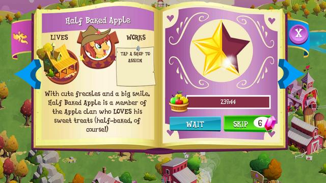 File:Half Baked Apple album MLP mobile game.png