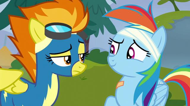 "File:Rainbow Dash ""no, ma'am"" S6E7.png"