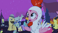Pinkie Pie Chicken acting like a chicken S2E4.png