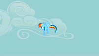 Rainbow Dash dazed S2E01