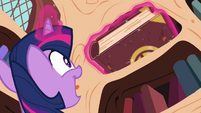 Twilight finds the book S3E01